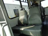 2015 Goshen Coach Ford 12 Passenger and 2 Wheelchair Shuttle Bus Rear exterior-U10109-8
