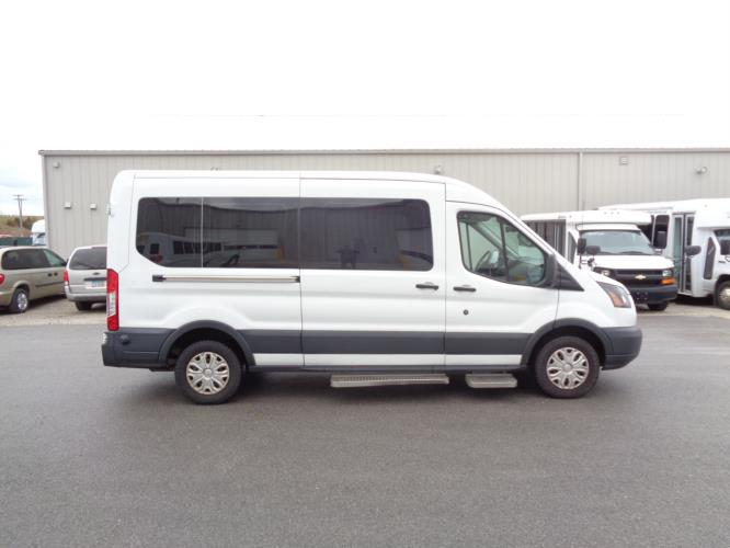 2016 Ford Ford 3 Passenger and 2 Wheelchair Van Driver side exterior front angle-U10123-2