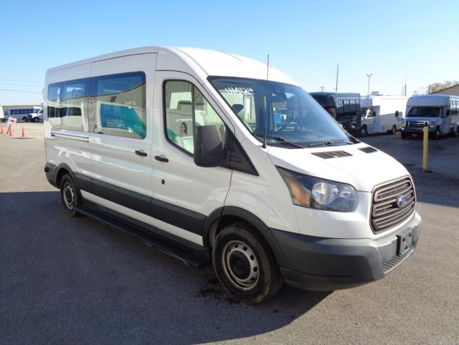 2016 Ford Ford 3 Passenger and 2 Wheelchair Van Passenger side exterior front angle-U10124-1