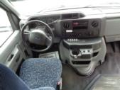 2011 Elkhart Coach Ford 12 Passenger and 2 Wheelchair Shuttle Bus Interior-U10128-13