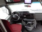 2012 Elkhart Coach Ford 12 Passenger and 2 Wheelchair Shuttle Bus Interior-U10129-10