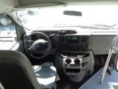2017 World Trans Ford 12 Passenger and 2 Wheelchair Shuttle Bus Interior-U10136-13