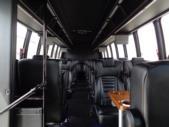 2016 Turtle Top Ford 33 Passenger Shuttle Bus Passenger side exterior rear angle-U10143-3