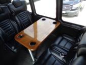 2016 Turtle Top Ford 33 Passenger Shuttle Bus Driver side exterior rear angle-U10143-4