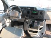 2017 Goshen Coach Ford 8 Passenger and 4 Wheelchair Shuttle Bus Interior-U10224-15