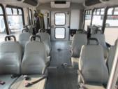 2017 Goshen Coach Ford 8 Passenger and 4 Wheelchair Shuttle Bus Rear exterior-U10224-8
