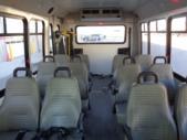 2016 Elkhart Coach Ford 12 Passenger and 2 Wheelchair Shuttle Bus Front exterior-U10232-7