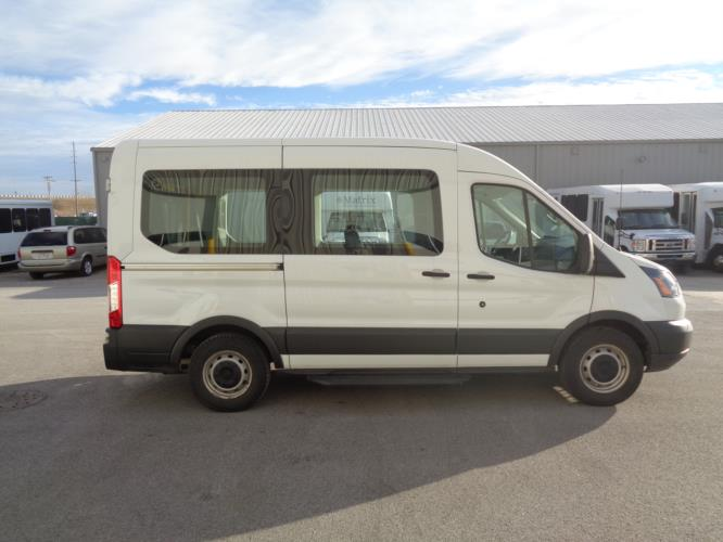 2018 Ford Transit Van Ford 4 Passenger and 1 Wheelchair Van Driver side exterior front angle-U10277-2