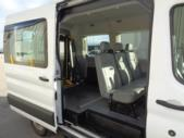 2018 Ford Transit Van Ford 4 Passenger and 1 Wheelchair Van Passenger side exterior rear angle-U10277-3