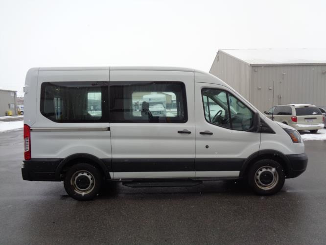 2018 Ford Transit Van Ford 4 Passenger and 1 Wheelchair Van Driver side exterior front angle-U10278-2