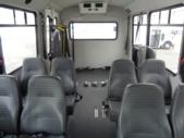 2016 Champion Ford E350 8 Passenger and 4 Wheelchair Shuttle Bus Rear exterior-U10316-8