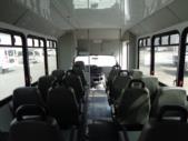 2014 Goshen Coach Ford 16 Passenger and 2 Wheelchair Shuttle Bus Interior-U10352-10