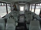2014 Goshen Coach Ford 16 Passenger and 2 Wheelchair Shuttle Bus Side exterior-U10352-6