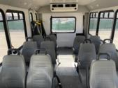2016 Goshen Ford 12 Passenger and 2 Wheelchair Shuttle Bus Side exterior-U10379-5