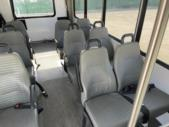 2016 Goshen Ford 12 Passenger and 2 Wheelchair Shuttle Bus Front exterior-U10379-7