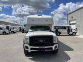 2012 Turtle Top Ford 12 Passenger Shuttle Bus Front exterior-U10475-7