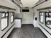2012 Turtle Top Ford 12 Passenger Shuttle Bus Rear exterior-U10475-8