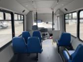 2019 Champion Ford 6 Passenger and 3 Wheelchair Shuttle Bus Interior-U10549-10