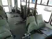 2017 Starcraft Ford 8 Passenger and 4 Wheelchair Shuttle Bus Interior-U10612-10