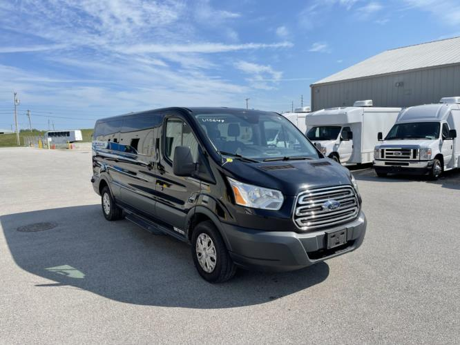 2016 Ford Transit 350 XLT 14 Passenger Van Passenger side exterior front angle-U10647-1