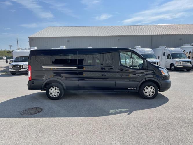 2016 Ford Transit 350 XLT 14 Passenger Van Driver side exterior front angle-U10647-2