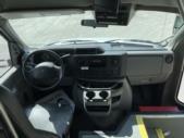 2016 Starcraft Ford 2 Passenger and 7 Wheelchair Shuttle Bus Interior-U10704-12