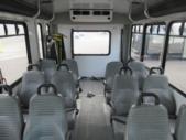 2016 Goshen Coach Ford 12 Passenger and 2 Wheelchair Shuttle Bus Interior-U10706-9
