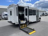 2019 Starcraft Ford 12 Passenger and 2 Wheelchair Shuttle Bus Passenger side exterior rear angle-U10711-3